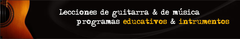 Aprenda a tocar la guitarra a su propio ritmo.
