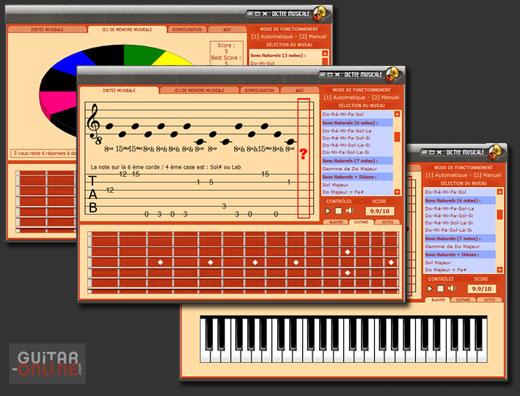 Programa de dictado y memoria musical para desarollar el oído absoluto y la memoria auditiva
