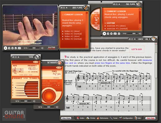 Terre Mouvante Cie How to play the guitar Screenshot