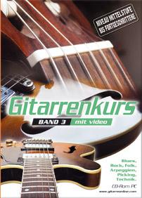 Gitarrenkurs auf CD-ROM PC – Band III