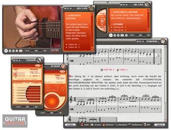 Gitarrenkurs auf CD-ROM PC – Band I