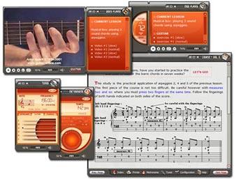 Método de guitarra - volumen dos para niveles desde principiante hasta intermedio