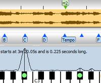 Transcribe! - Logiciel pour transcrire la musique enregistrée