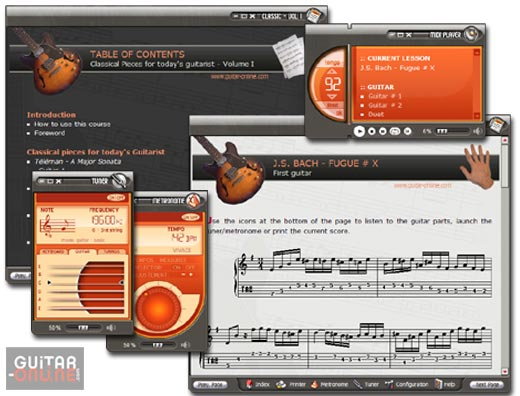 Click to view Classical Pieces for Guitar Vol I 5.5 screenshot