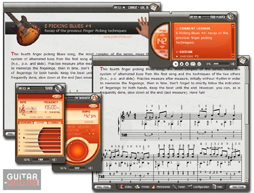 Click to view How to play the guitar Vol3 5.5 screenshot