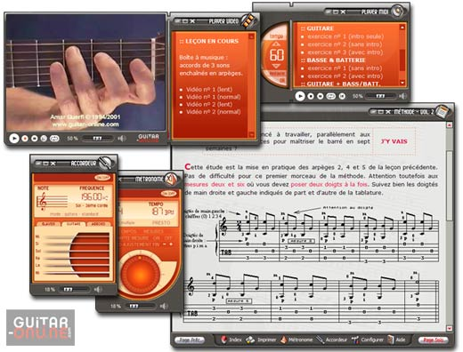 Methode de guitare - Vol II screenshot